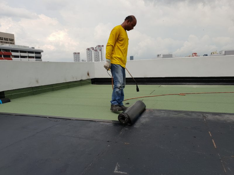 waterproofing works singapore