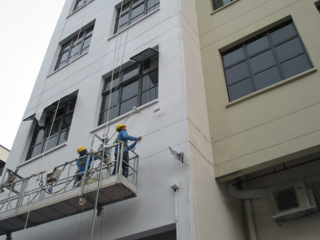 repainting services works