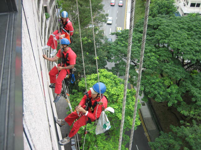 rope access singapore works